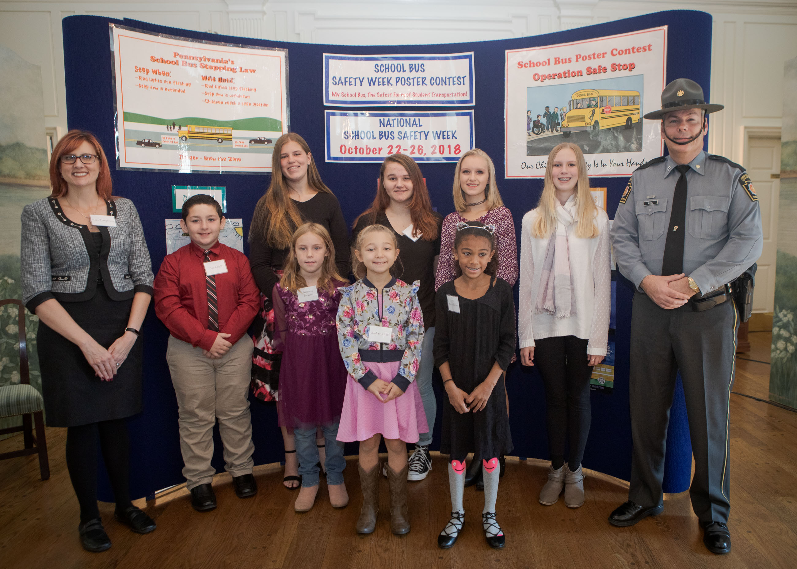 School Bus Safety Poster Contest Winners