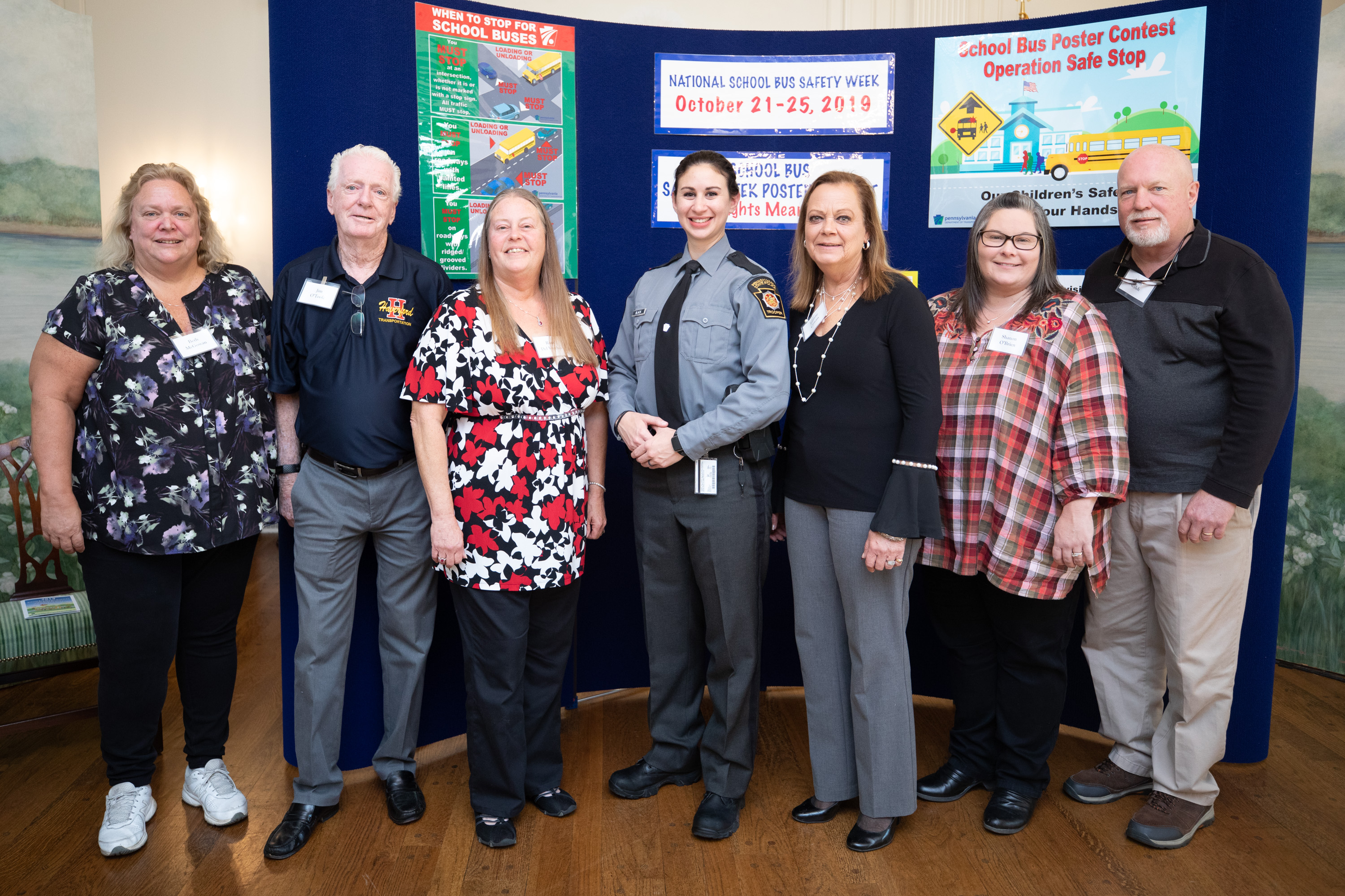 School Bus Driver Safety Competition Winners