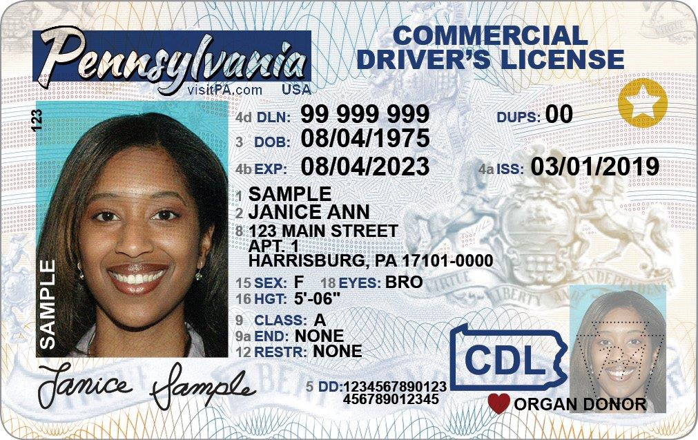 REAL ID Info for CDL Holders