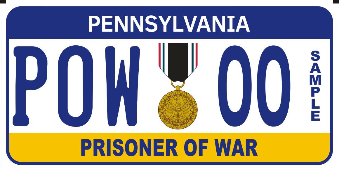 Ex-Prisoner of War plate