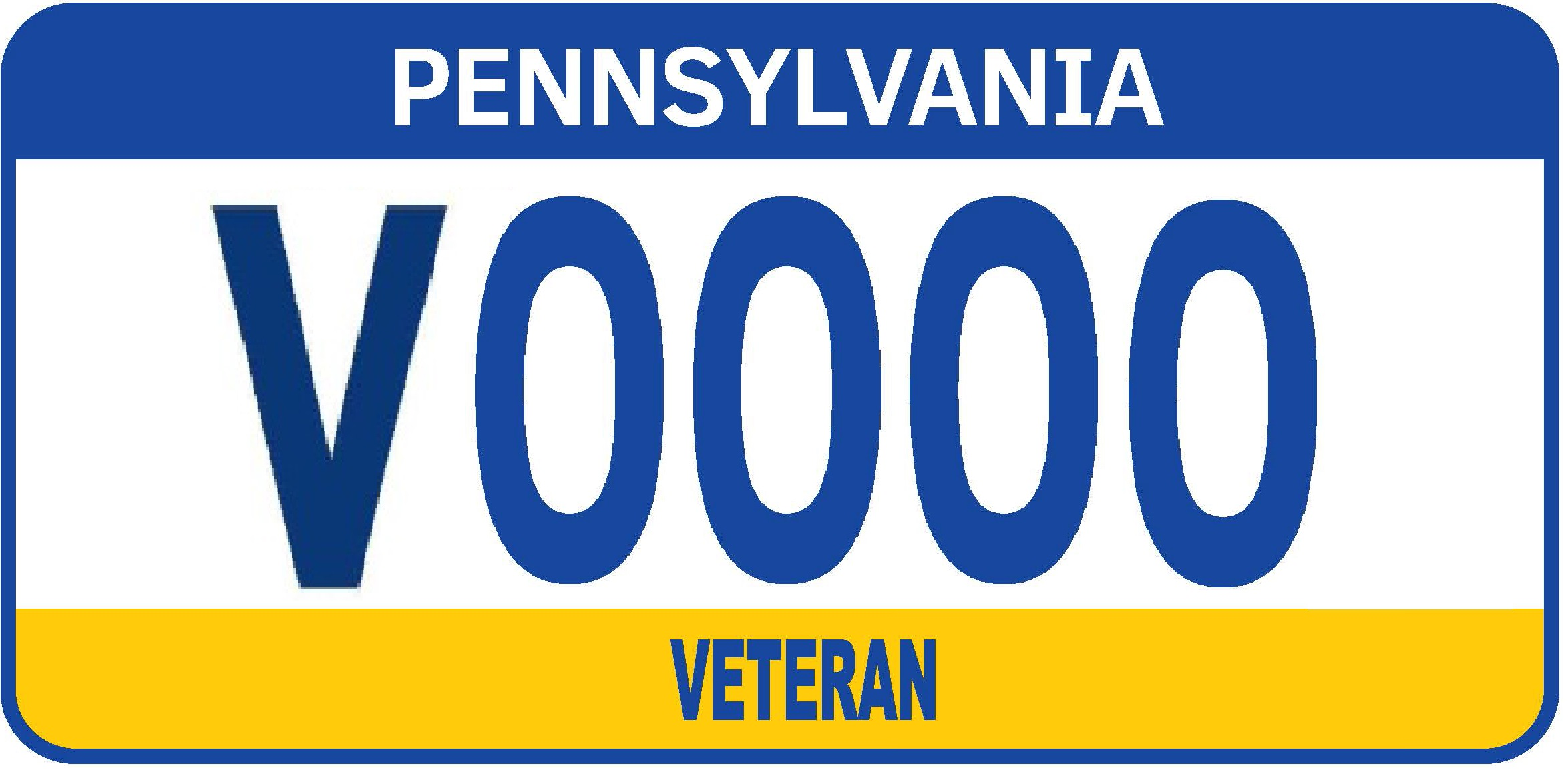 Veteran Motorcycle plate