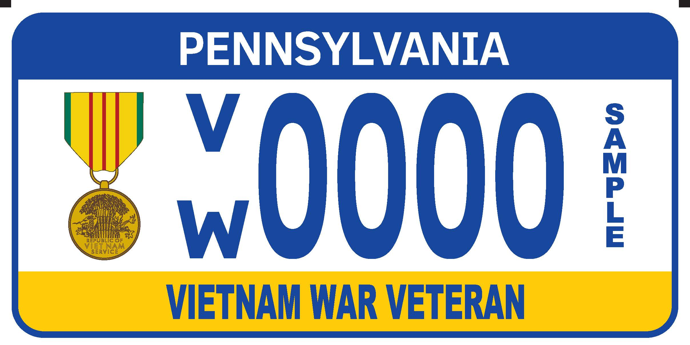 Military Registration Plates